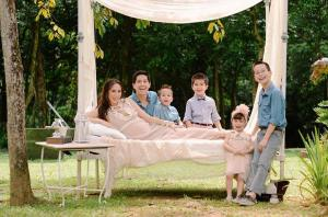 Edric and his family*
