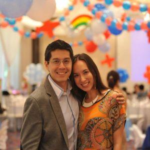 Joy and Edric Mendoza