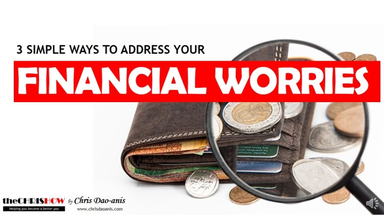theCHRISHOW Ep 2-How to Address Your Financial Worries